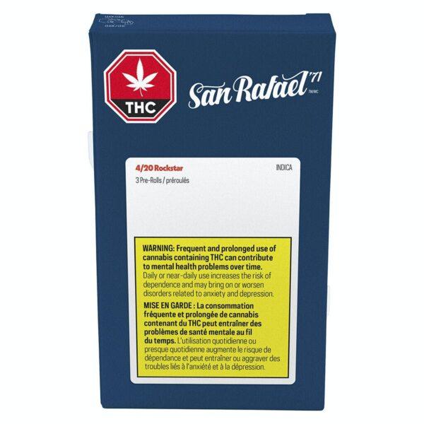 cannabis-San Rafael71 - 4-20 Rockstar Pre-roll