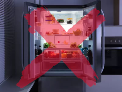 do not store weed in refrigerator