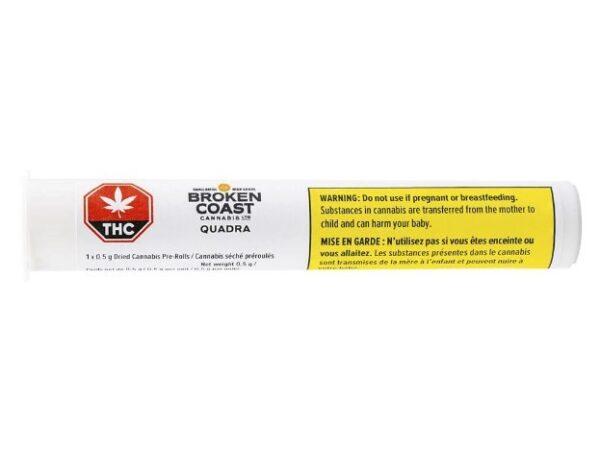 cannabis-BROKEN COAST CANNABIS - Quadra Pre-Roll