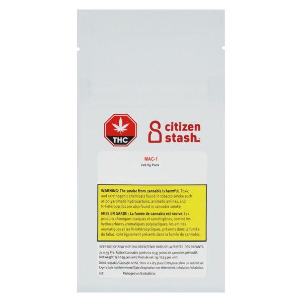 cannabis-CITIZEN STASH - MAC 1 Pre-Roll