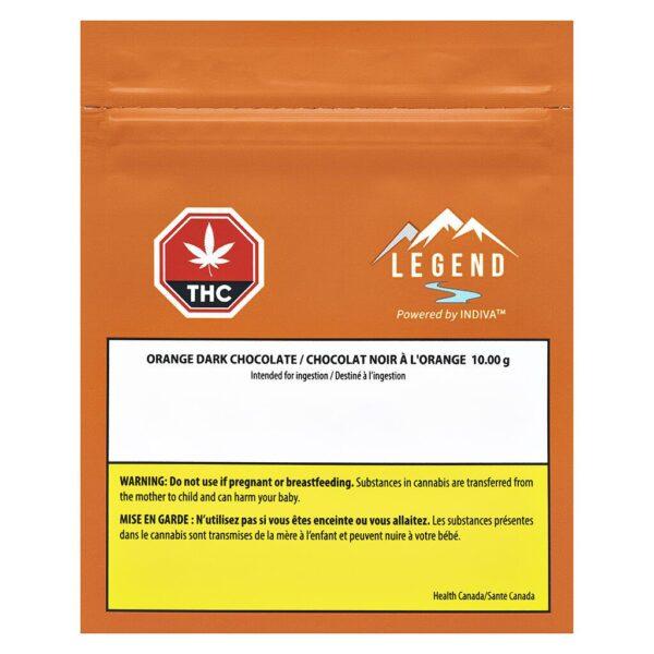 cannabis-LEGEND-THC Orange Dark Chocolate