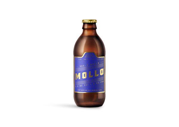 cannabis-Mollo - 5 Medium Dose 1-1 Crisp Beverage