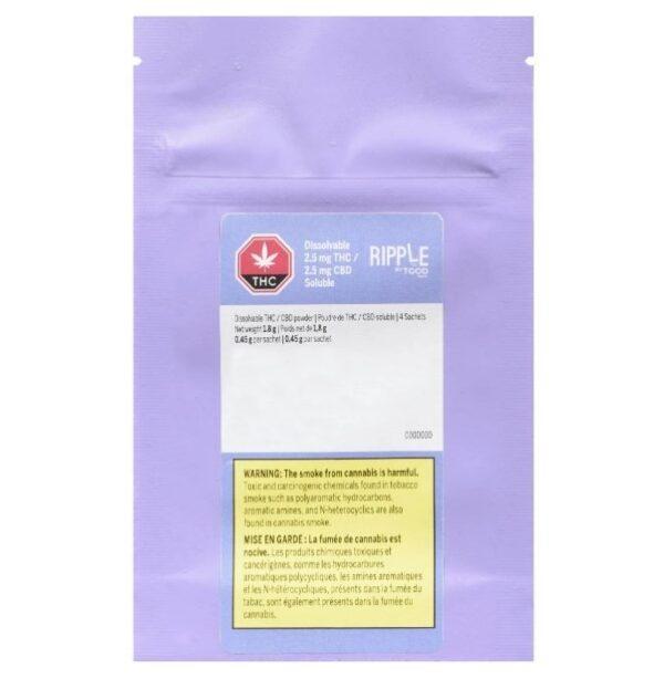cannabis-Ripple by TGOD - Dissolvable Balanced Powder