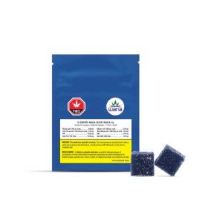 cannabis-WANA-Blueberry Sour Soft Chews
